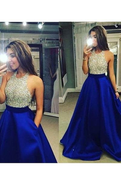 royal blue prom dress,long Prom Dress,charming prom dress,2016 prom dress,party dress,BD1371 - dream dress