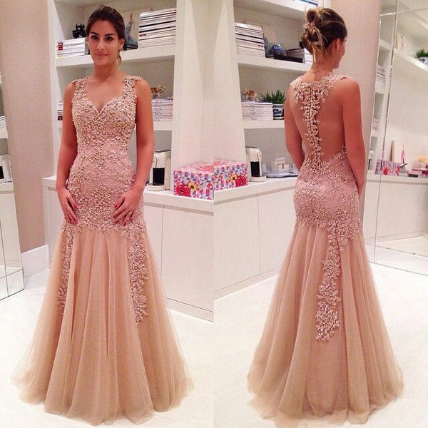 Charming Prom Dress,Mermaid prom dress,Backless prom dress,Long prom dress,evening dress,BD381 - dream dress