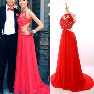 Long Prom Dress, Lace Prom Dress, Backless Prom Dress, Cheap Prom Dress, Charming Prom Dress, BD077 - dream dress
