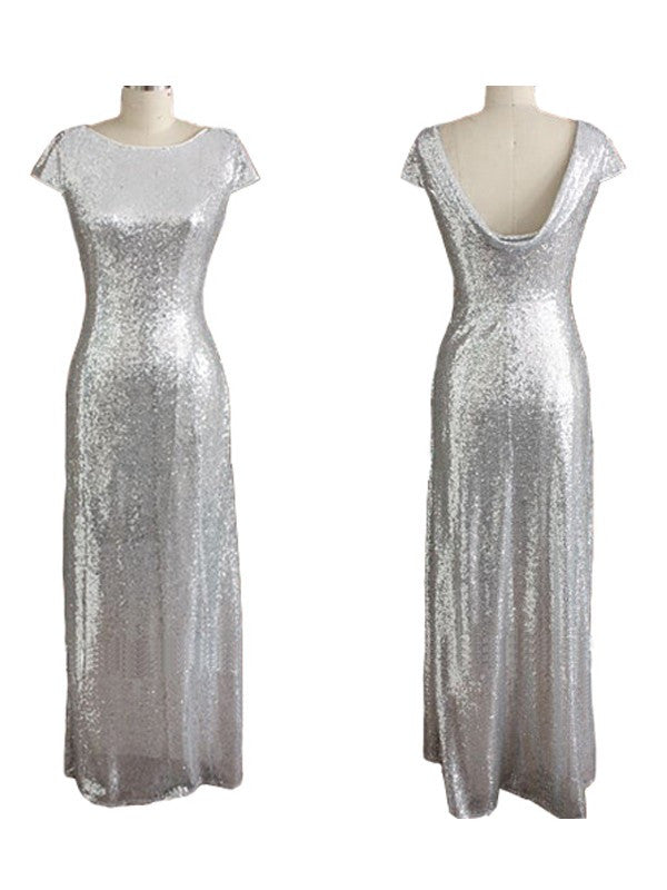 sliver bridesmaid dress,sequin bridesmaid dress,long bridesmaid dress,sparkle bridesmaid dresses,BD836 - dream dress