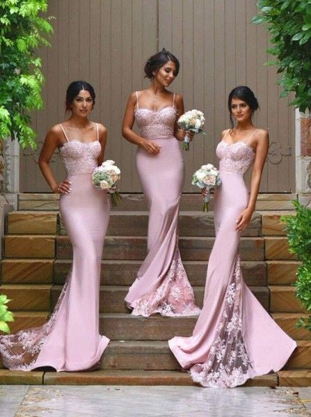 lilac bridesmaid dress,long bridesmaid dress,lace bridesmaid dress,elegant bridesmaid dress,BD1557 - dream dress