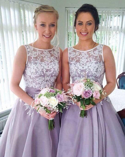 lace bridesmaid dress,short bridesmaid dress,Cheap bridesmaid dress,cute bridesmaid dress,BD770 - dream dress