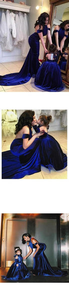 Royal Blue Halter Mermaid Prom Dress Backless 2019 Sweep/Brush Prom dresses,PD3758