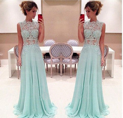 Blue prom Dress,Charming Prom Dresses,Party prom Dress,2017 prom dress,Evening dres,BD063 - dream dress