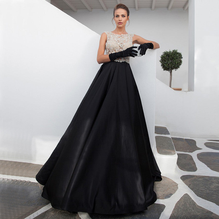black Prom Dresses,A-line Prom Dress,Dresses For Prom,party Prom Dress,formal prom dress,BD1874 - dream dress