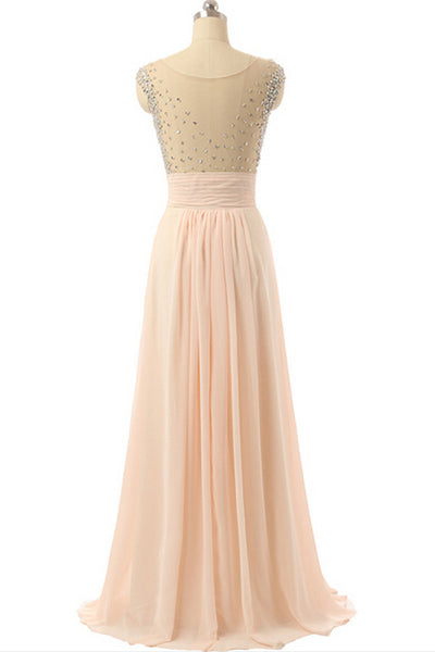 Long Prom Dresses,Blush pink Prom Dresses,Charming Prom Dress,2017 Prom Dress,Bridesmaid Dress,BD146 - dream dress