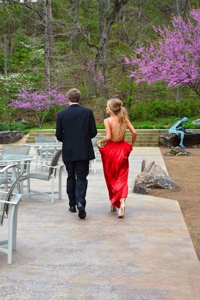 red prom dress,long prom dress,chiffon prom dress,cheap prom dress,backless evening dress,BD2622 - dream dress