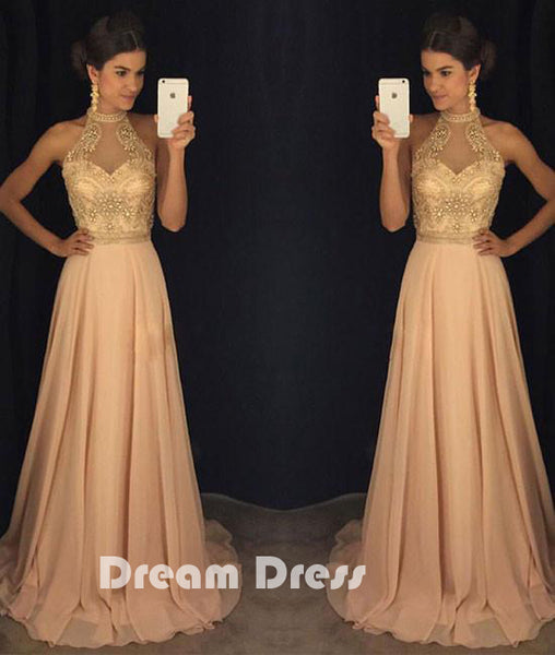 bead long prom dress, Evening dresses,formal dresses