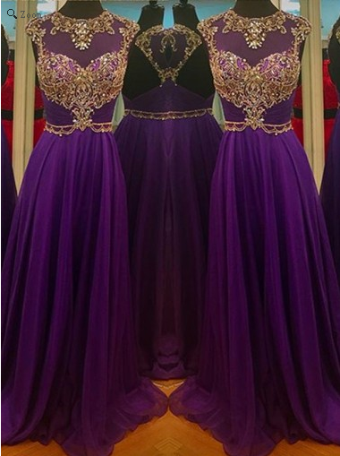 purple Prom Dresses,2017 Prom Dress,long prom Prom,charming Prom Dress,backless Prom Dress,BD1102 - dream dress