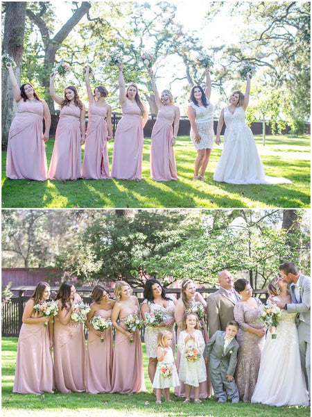 2017 A-LINE SWEETHEART CHIFFON PROM DRSESS BRIDESMAID DRESS,PD1520 - dream dress