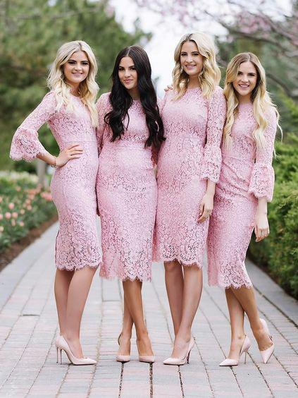 2018 SHEATH/COLUMN PROM DRSESS/EVENING DRESS BRIDESMAID DRESS,PD1527 - dream dress