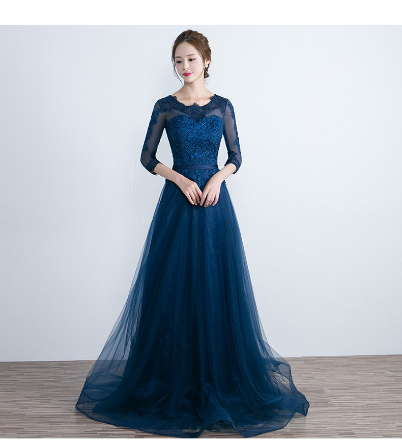 Cheap Prom Gowns Long-Sleeved
