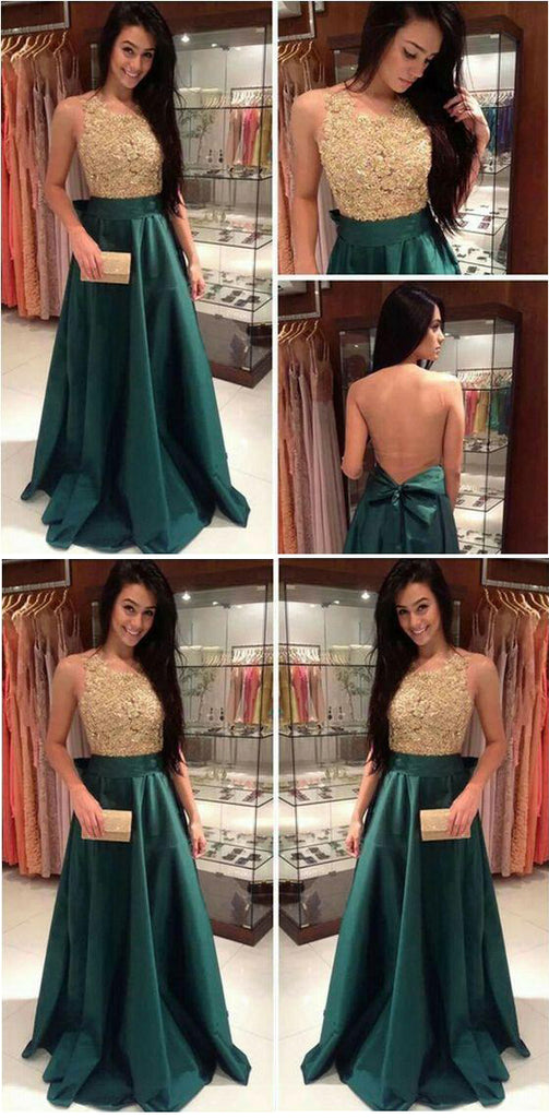 green Prom Dresses,charming prom dress,long prom Dress,2017 prom dress,custom prom dress,BD0394