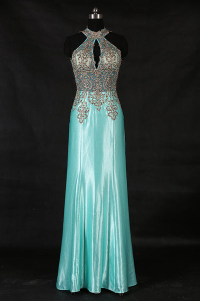 long prom dress,blue Prom Dress,charming evening gown,formal prom gown,2017 prom dress,BD1010 - dream dress