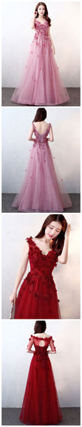 New Prom Gown,Vintage Prom Gowns,Elegant Evening Dress,PD790003