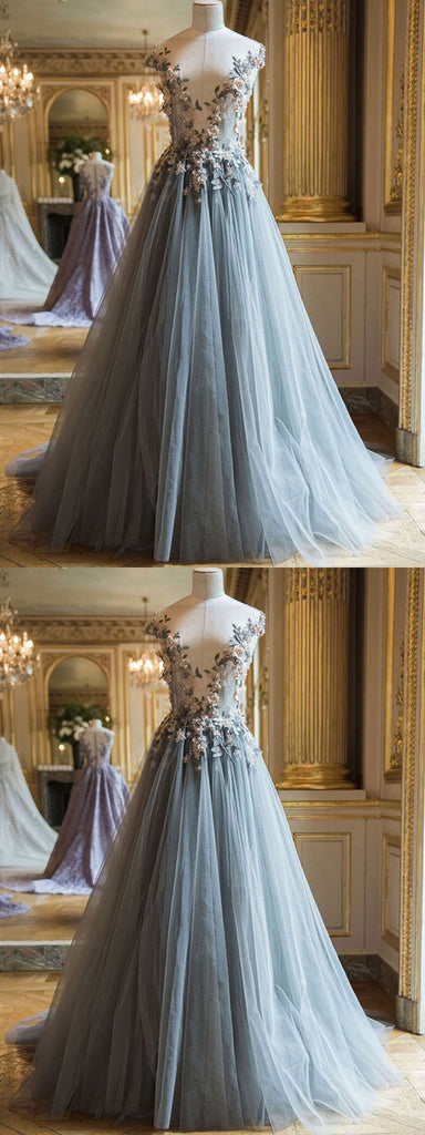 New Prom Gown,Vintage Prom Gowns,Elegant Evening Dress