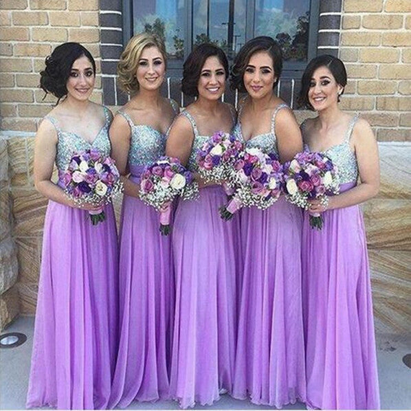 purple bridesmaid dress,long bridesmaid dress,sequin top bridesmaid dress,bridesmaid dresses,BD824 - dream dress