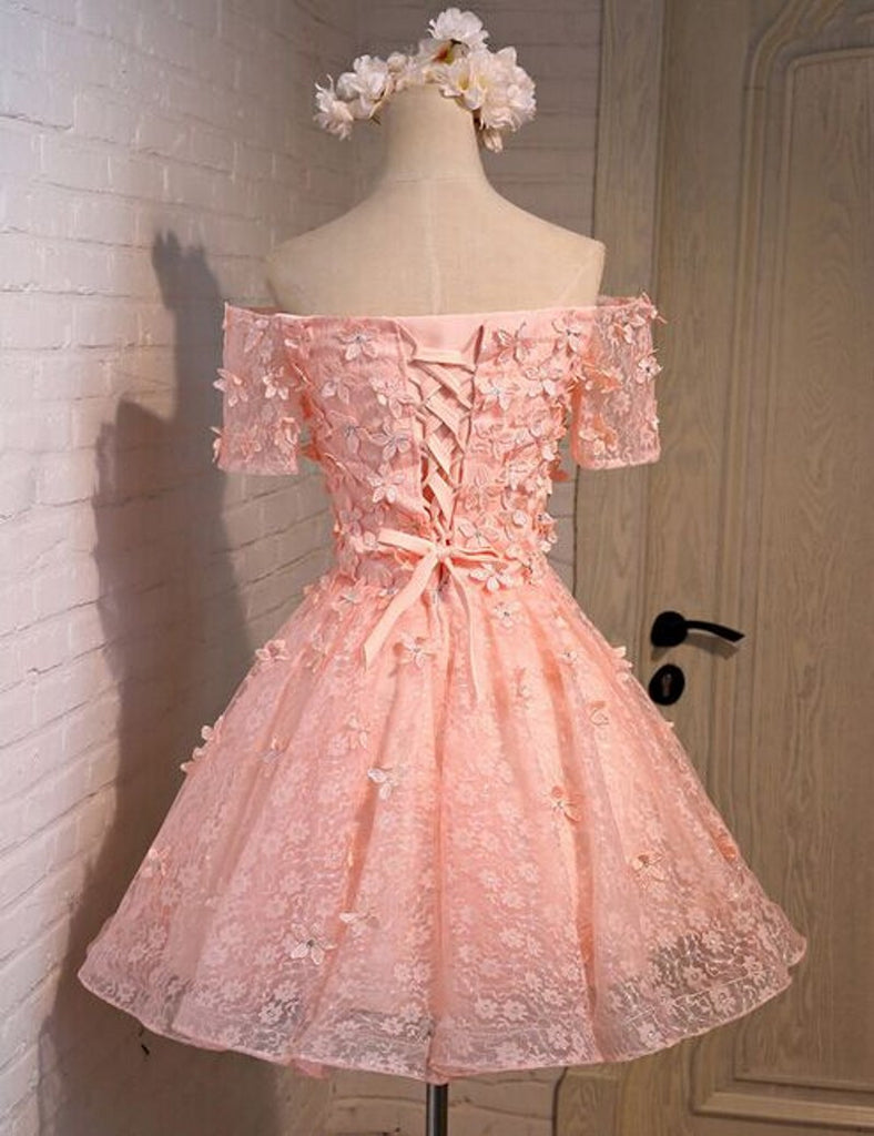Pink prom Dress,Lovely Prom Dresses,Party dress for girls,Off ...