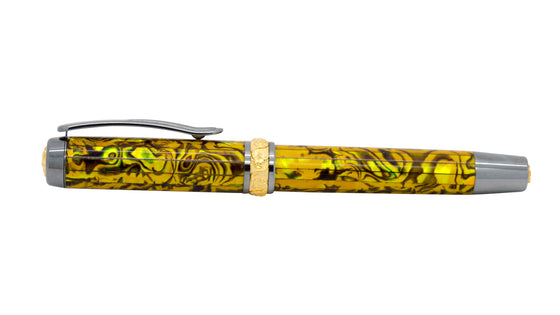 Aaron Pen Kit - Black Titanium/Gold - *Non-Postable*