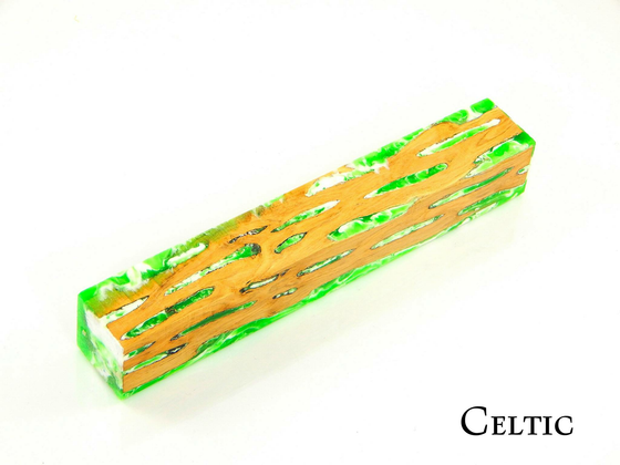 Cactus Pen Blank by Dan Pompe - Celtic