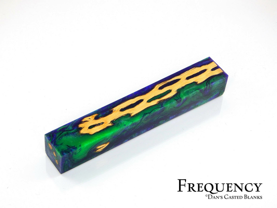Cactus Pen Blank by Dan Pompe - Frequency