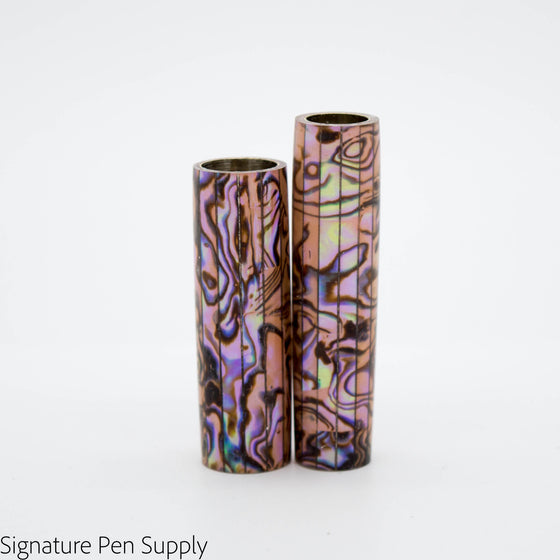 Copper Paua Abalone Pen Blank - Jr II
