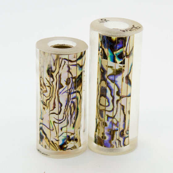 White Abalone Pen Blank - Jr II