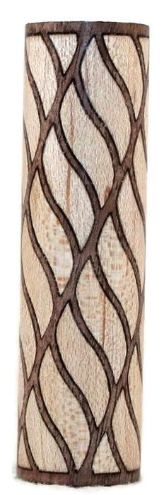 Rope Twist (Right -Leaning)  Blank made by Kenneth Wines