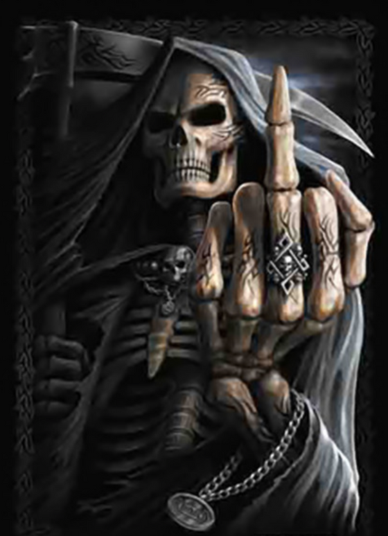 The Finger Skull
