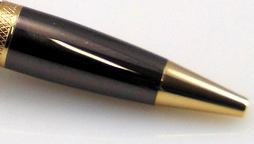 Monarch Grande Ballpoint Pen Kit - Gunmetal/Gold