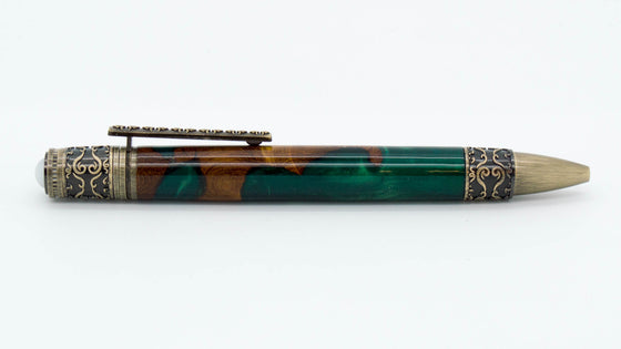 Spiritual Twist Ballpoint Pen Kit - Antique Bronze