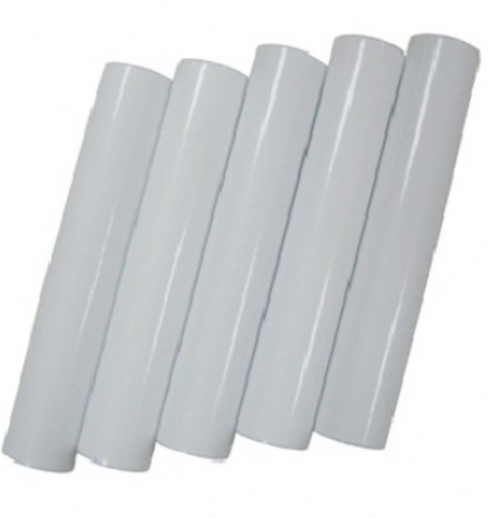 Pack of 5 Replacement Tubes - Jr. Aaron (Longer Lower Tube); White