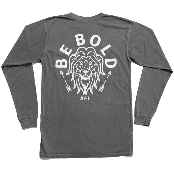 VINTAGE LONG SLEEVE - BE BOLD (SMOKE)