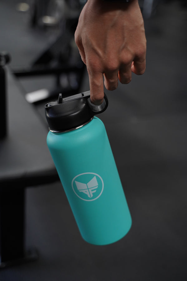Insulated Canteen 32oz - AQUA TEAL