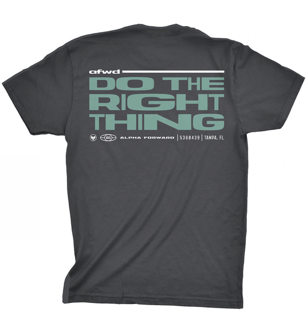DO THE RIGHT THING TEE - Heavy Metal
