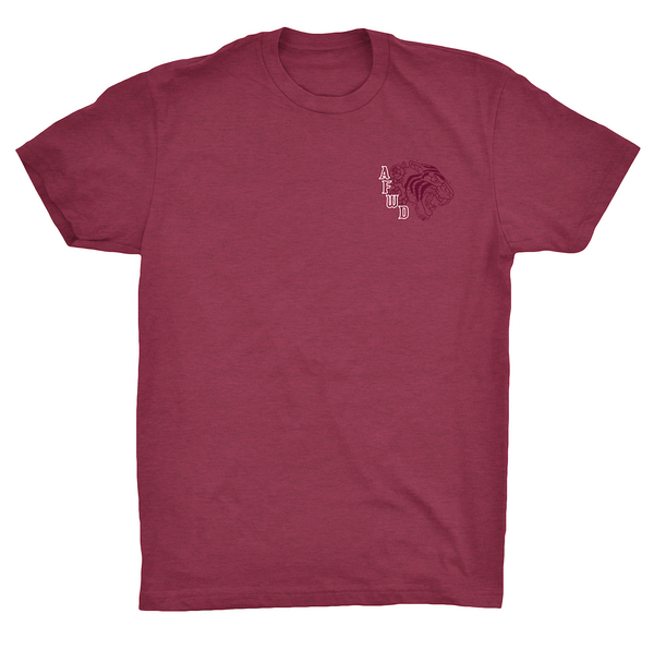PAPER TIGERS TEE - Heather Maroon