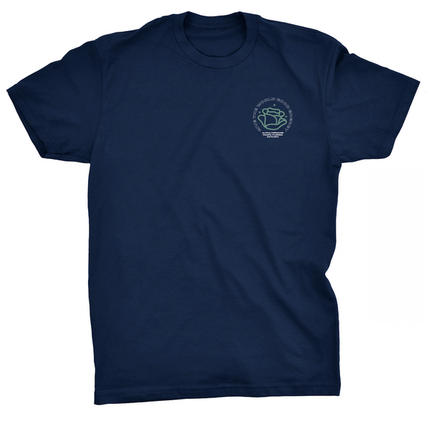GOOD ENERGY TEE - Navy