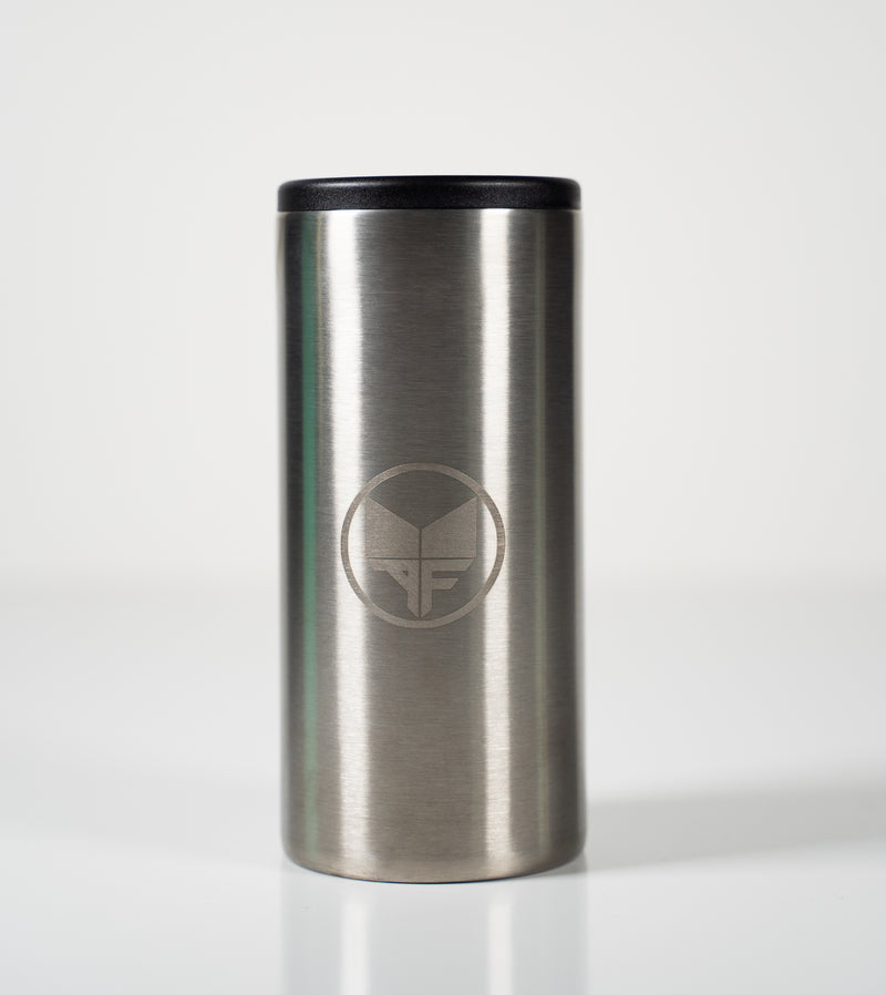 Slim Can Cooler 12oz - Silver