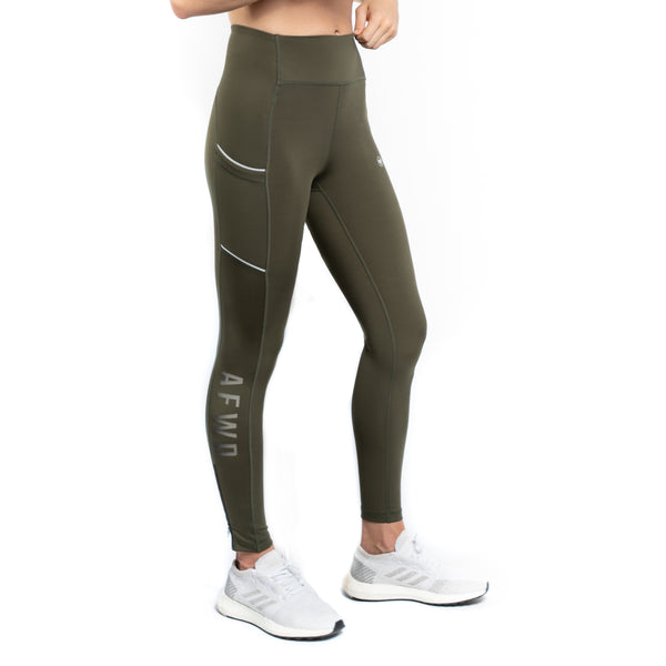 [AF-01] TECH LEGGINGS - OLIVE