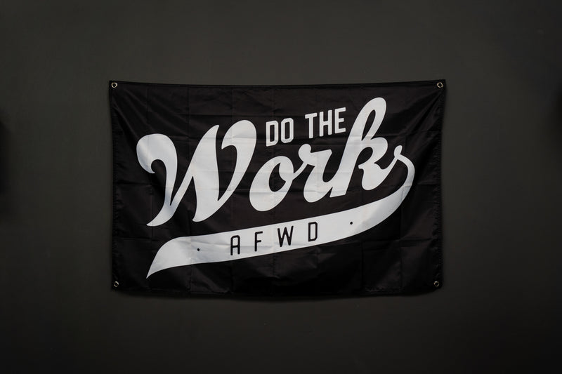 """Do The Work"" Flag"