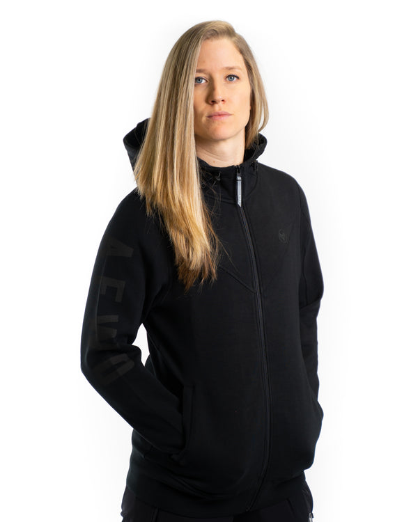 Evo Zip Jacket - BLACK