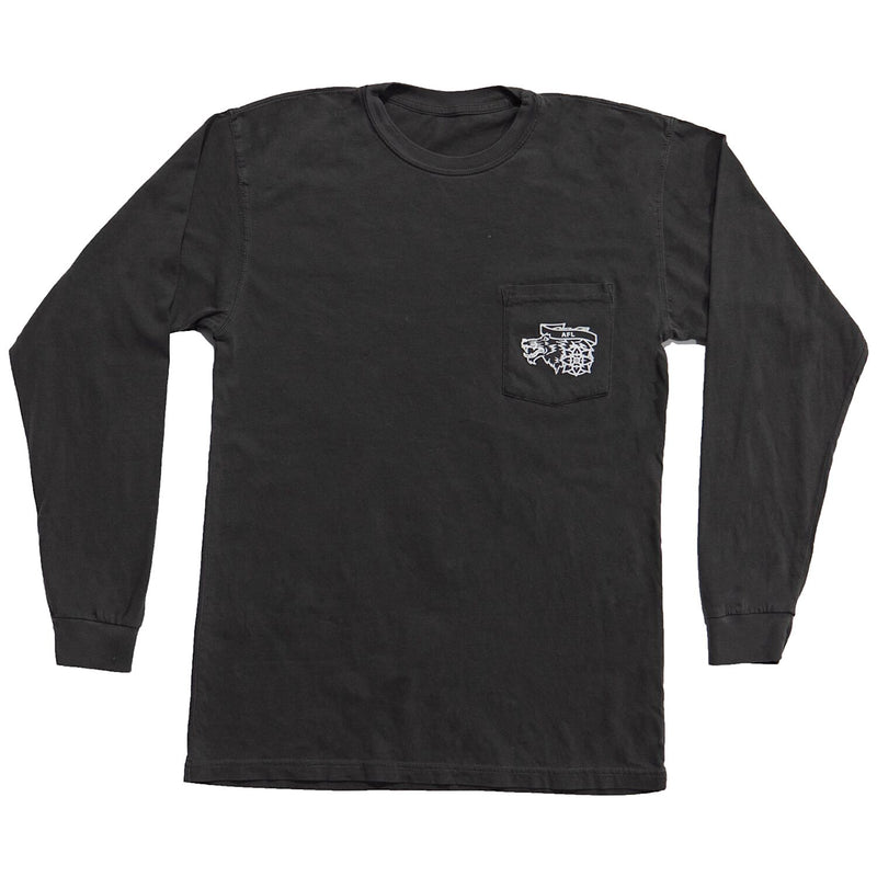 VINTAGE LONG SLEEVE - Don't Be A Sheep (Charcoal)