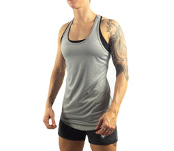 Inspire Tank Top - Silver