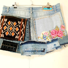 Load image into Gallery viewer, Ladies size 10 denim story skirt