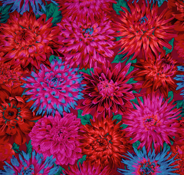 Dahlias Red