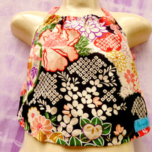 Load image into Gallery viewer, Size 2 upcycled halter top