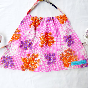 Size 3-4 upcycled halter top