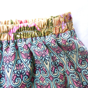 Size 2-4 upcycled bohemian skirt