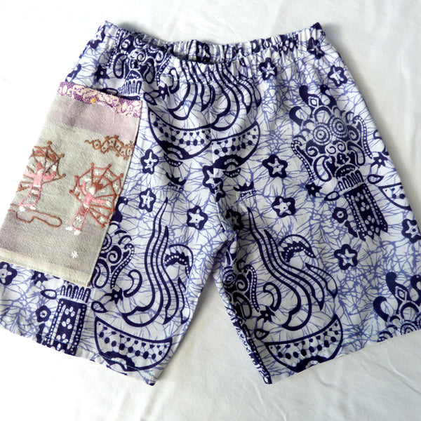 Size 4-5 Tribal Batik Shorts