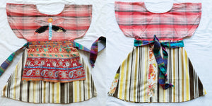 Upcycled girls dresses